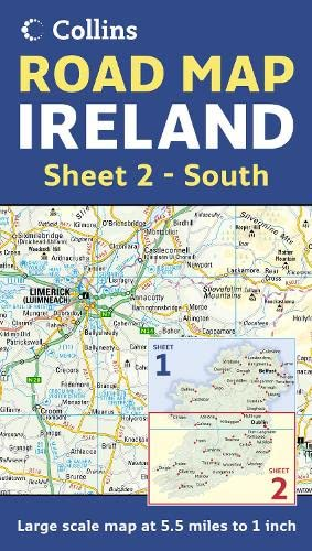 Ireland Road Map By Not Known