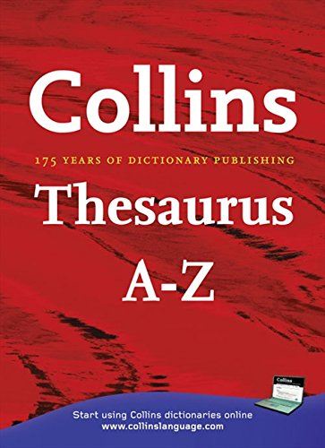 Collins Thesaurus A-Z Home Edition by