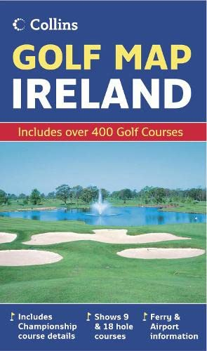 Golf Map of Ireland
