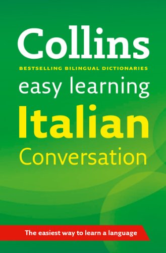 Collins Italian Easy Learning Conversation By Collins Dictionaries