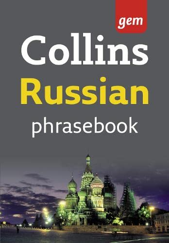 Collins Gem - Russian Phrasebook By Collins