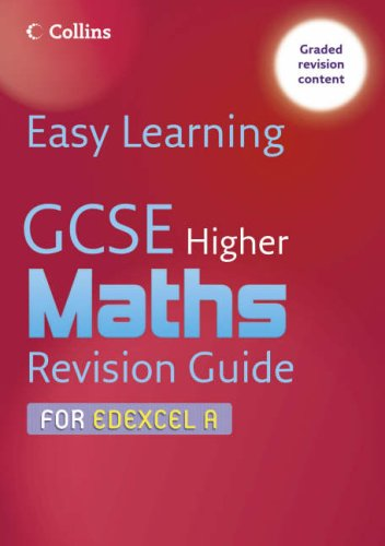 GCSE Maths Revision Guide for Edexcel A By Keith Gordon