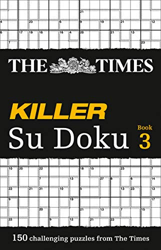 The Times Killer Su Doku 3 By The Times Mind Games