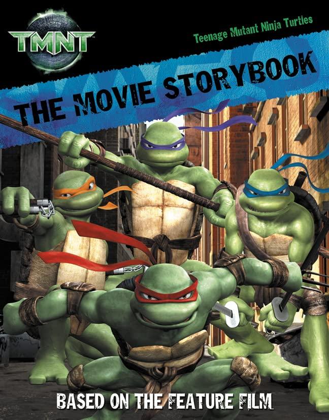 """""""Teenage Mutant Ninja Turtles """" - Movie Storybook"""