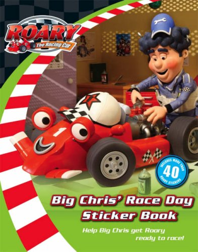 Big Chris's Big Race Day Sticker Storybook By VARIOUS
