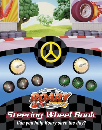 Roary to the Rescue Steering Wheel Book By BEN SHE.YI MING