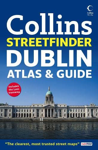 Dublin Streetfinder Atlas and Guide By Collins Uk
