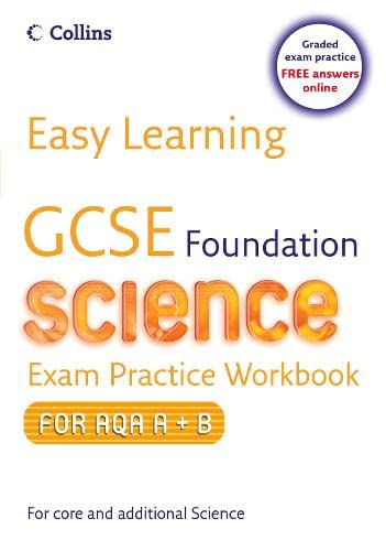 GCSE Science Exam Practice Workbook for AQA A+B By Mary Jones