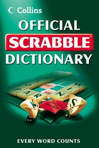 Collins Official Scrabble Dictionary By -