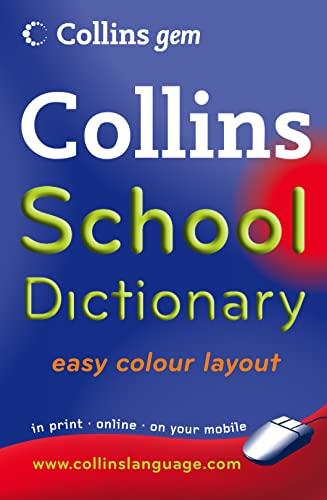 Collins Gem School Dictionary (Collins School)