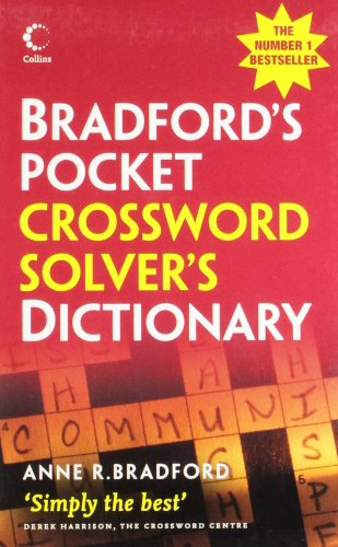 Collins Bradford's Crossword Solver's Pocket Dictionary By Anne R. Bradford