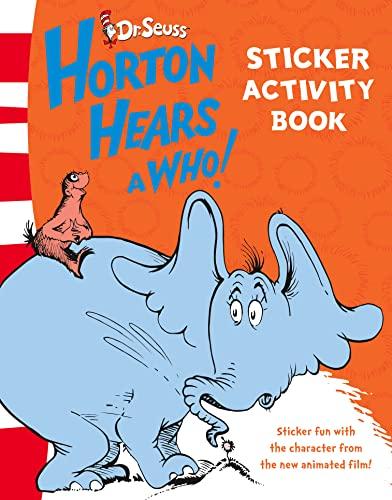 Sticker Activity Book By Dr. Seuss