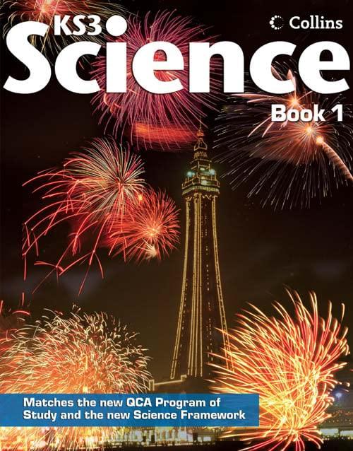 Collins KS3 Science – Pupil Book 1: Bk. 1 By David Taylor