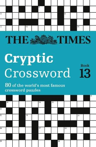 The Times Cryptic Crossword Book 13 By The Times Mind Games