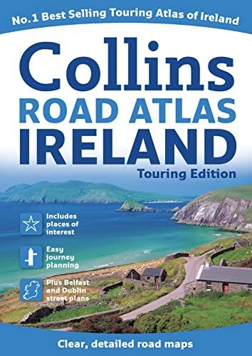 Road Atlas Ireland By Collins Uk