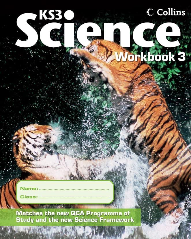 Collins KS3 Science – Workbook 3: v. 3 (Collins Key Stage 3 Science) Edited by Edmund Walsh