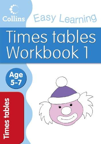 Times Tables Workbook 1 By Simon Greaves