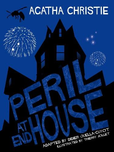 Peril at End House Comic Strip Edition By Original author Agatha Christie
