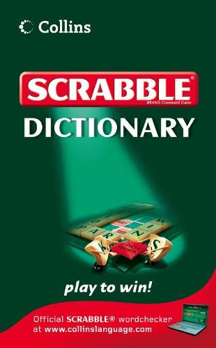 Collins Scrabble Dictionary By VARIOUS