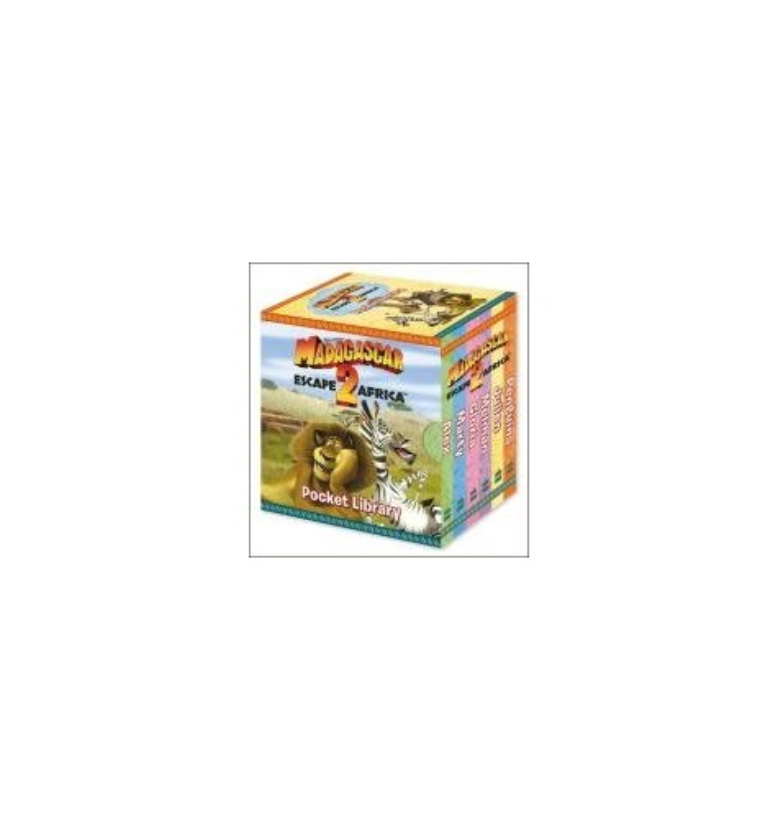 """Madagascar: Escape 2 Africa"" - Pocket Library"