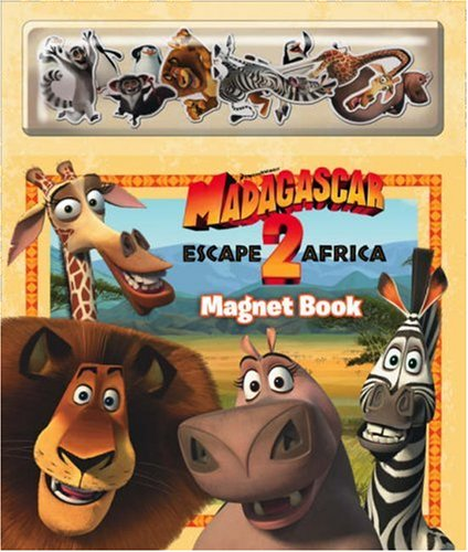 Madagascar: Escape 2 Africa – Magnet Book