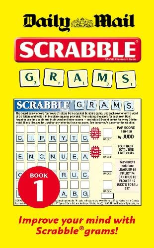 Collins Daily Mail Scrabble Grams By (Daily Mail)
