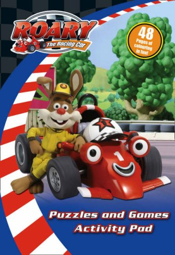 """""""Roary the Racing Car"""" - Puzzles and Games Activity Pad"""