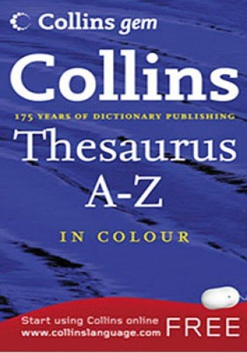 Thesaurus A-Z By Kolektif