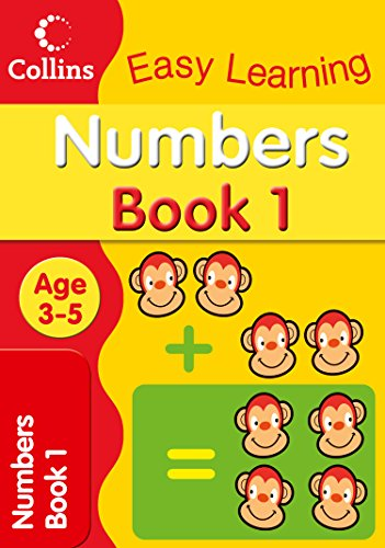 Numbers Age 3-5: Book 1 by