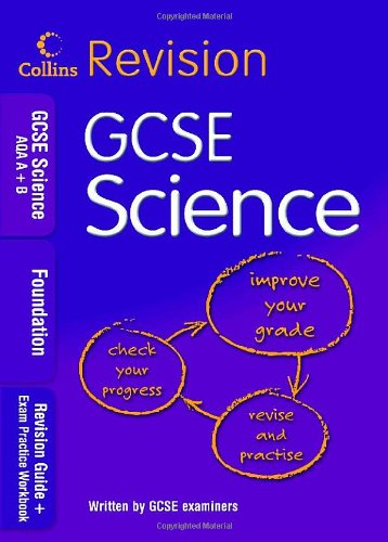 GCSE Science AQA A+B: Foundation By COLLINS EDUCATIONAL CORE LIST