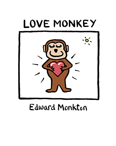 Love Monkey By Edward Monkton