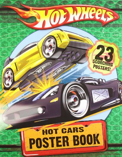 Hot Cars Poster Book