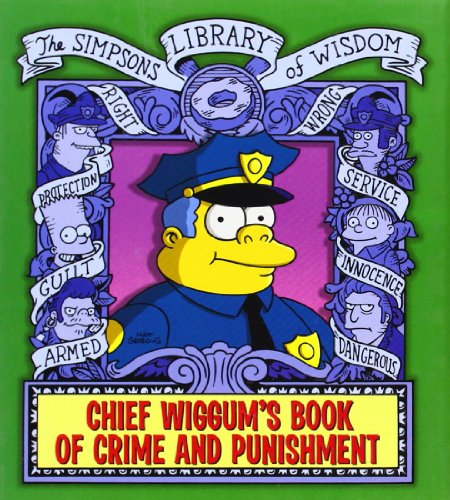 Chief Wiggum by Matt Groening