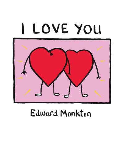 I Love You By Edward Monkton