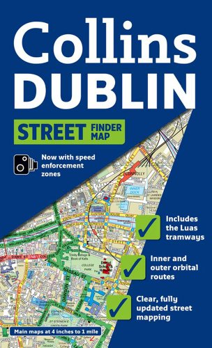 Dublin Streetfinder Colour Map By Collins UK