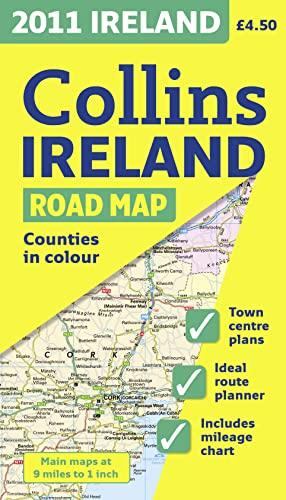 2011 Collins Map of Ireland