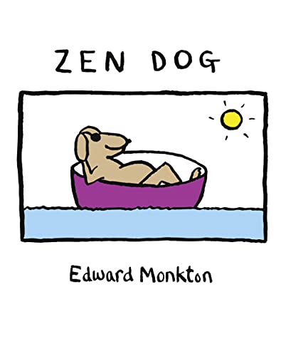 Zen Dog By Edward Monkton