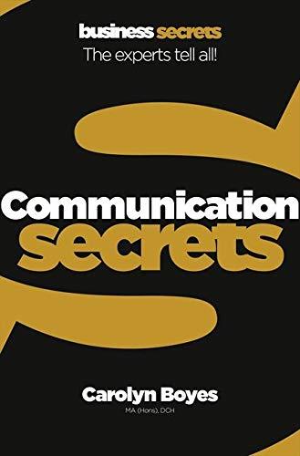Communication By Carolyn Boyes