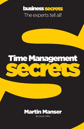 Time Management By Martin Manser