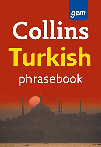 Collins Gem Turkish Phrasebook and Dictionary by Collins Dictionaries
