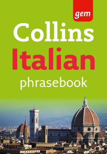 Collins Gem Italian Phrasebook and Dictionary by Collins Dictionaries