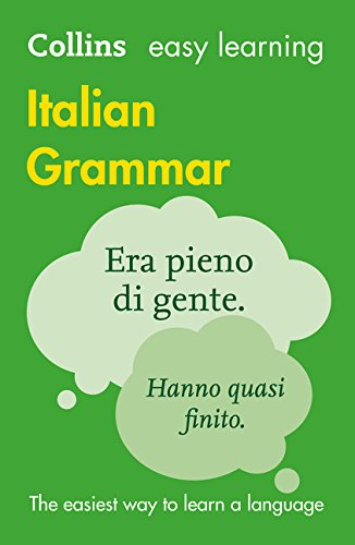 Collins Easy Learning Italian Grammar By Collins Dictionaries