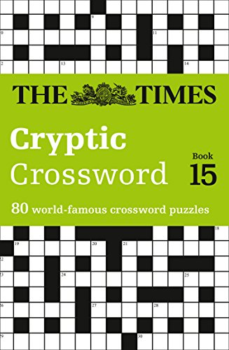 The Times Cryptic Crossword Book 15 By The Times Mind Games
