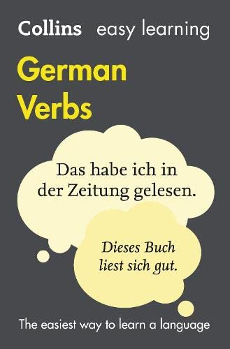 Easy Learning German Verbs: With Free Verb Wheel by Collins Dictionaries