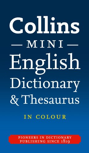 Collins English Dictionary and Thesaurus By Collins Dictionaries