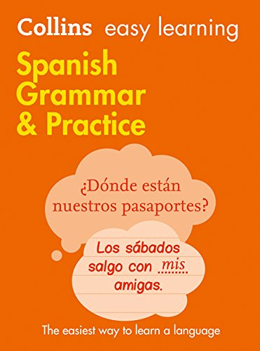 Collins Easy Learning Spanish Grammar and Practice By Collins Dictionaries