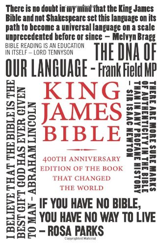 Holy Bible: King James Version (KJV) 400th Anniversary Edition By None