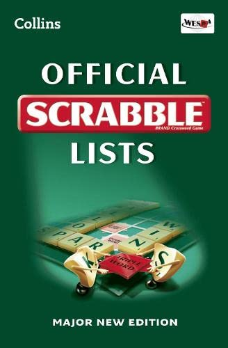 Collins Official Scrabble Lists By Collins Dictionaries