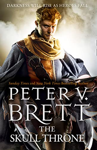 The Skull Throne (The Demon Cycle, Book 4) by Peter V. Brett