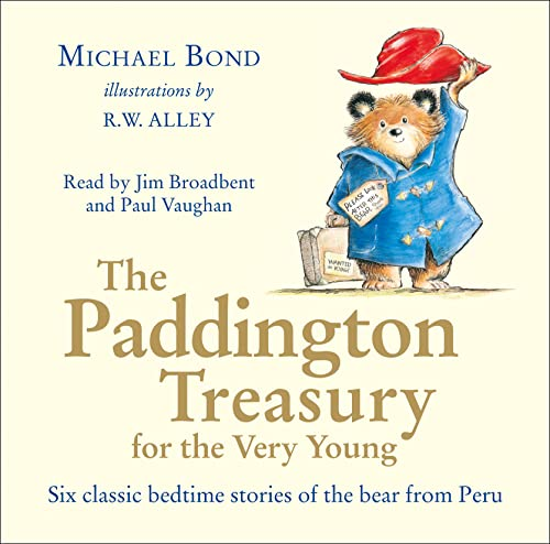 The Paddington Treasury for the Very Young (CD) By Bond, Michael